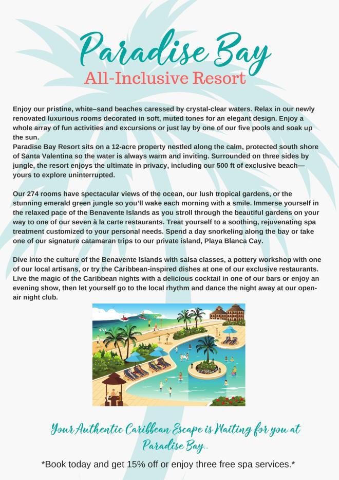 Paradise Bay Brochure